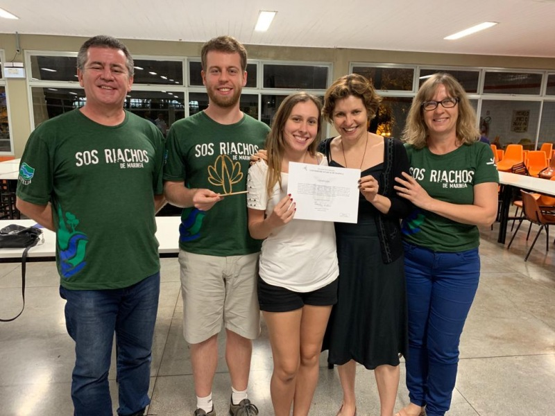 Premio para el proyecto SOS Riachos