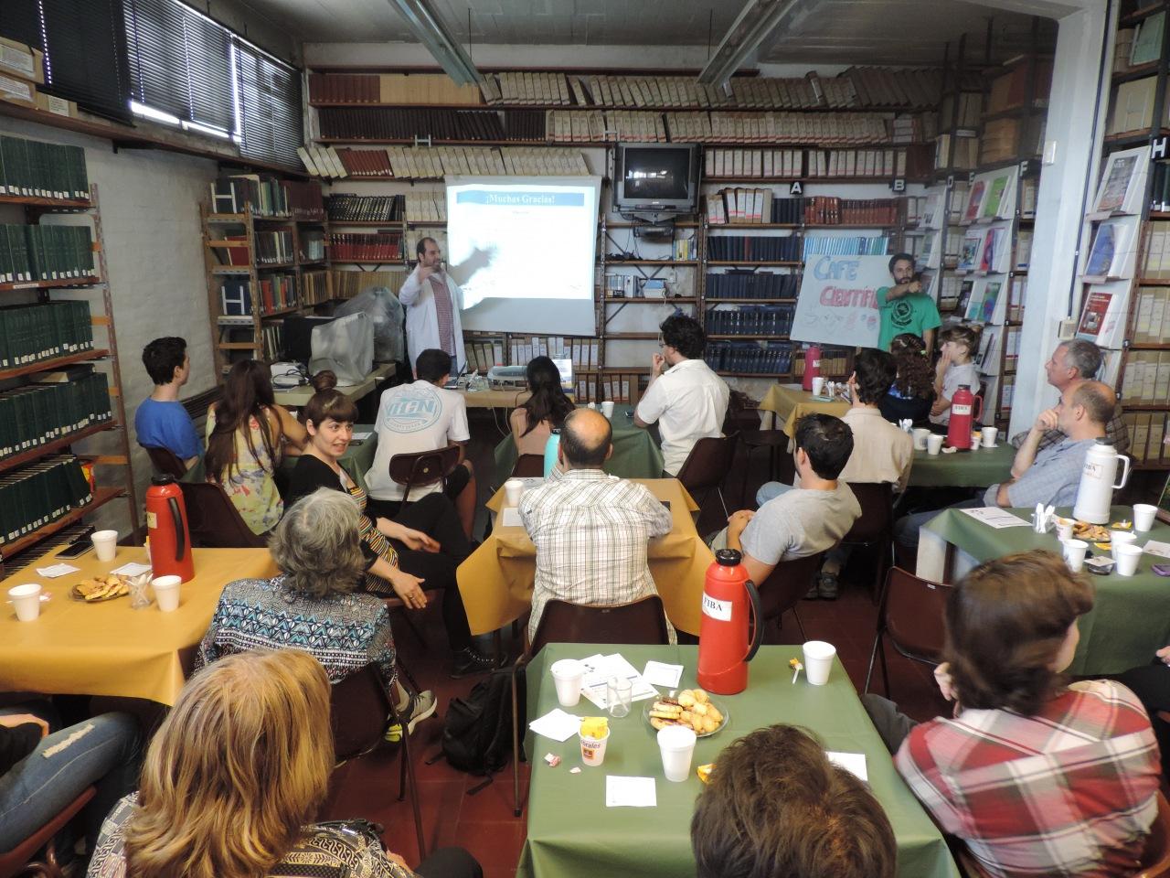 Café científico 2015