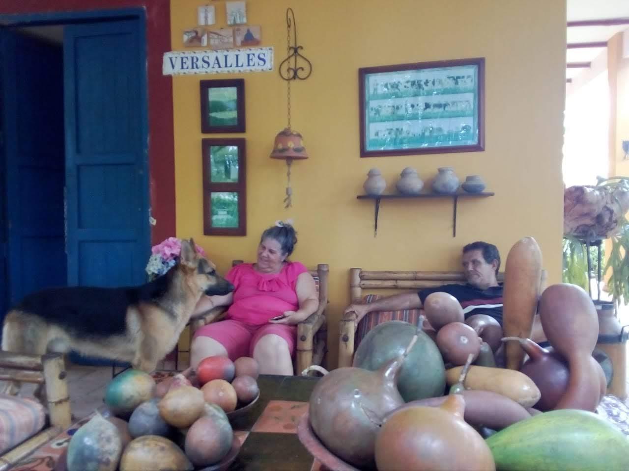 Turistas brasileiros no Patia