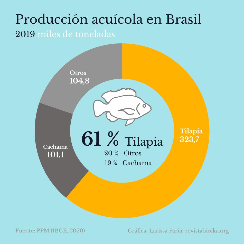 Producción de la acuicultura