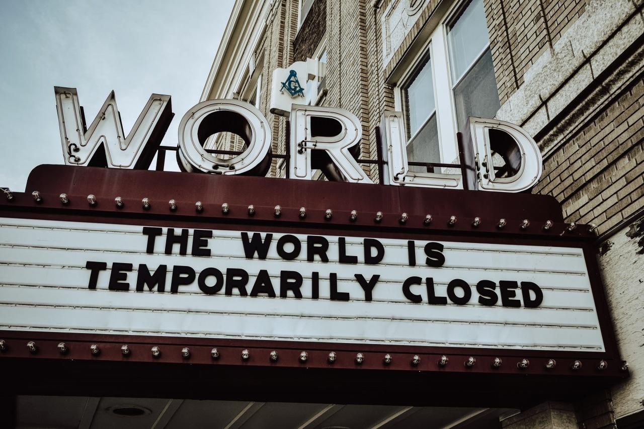 El mundo está cerrado