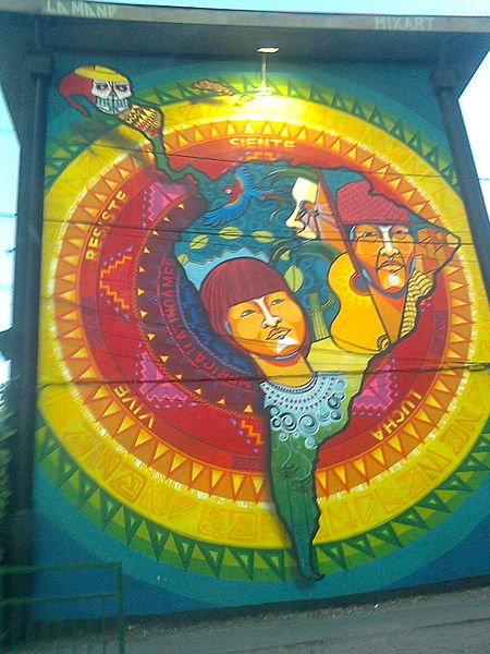 Mural latinoamérica