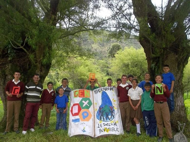 """Grupo de pesquisa """"Viajantes da selva invisível"""""""