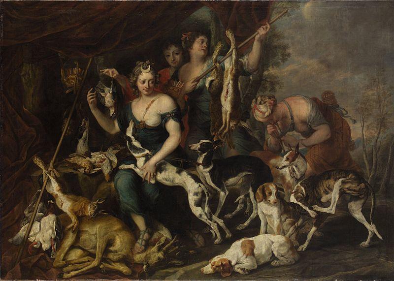La cacería de Diana. El trabajo de Jan Fyt, fechado en 1650