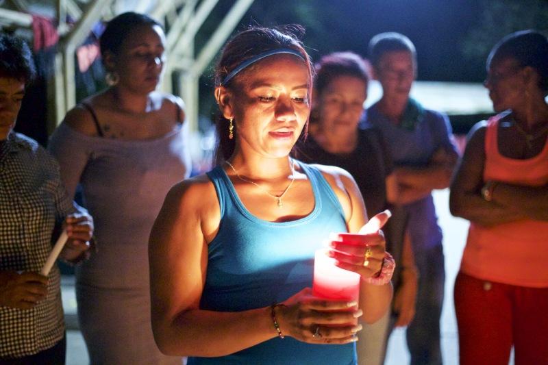Encuentro de líderes sociales en Brisas-La Florida, Chocó, Colombia